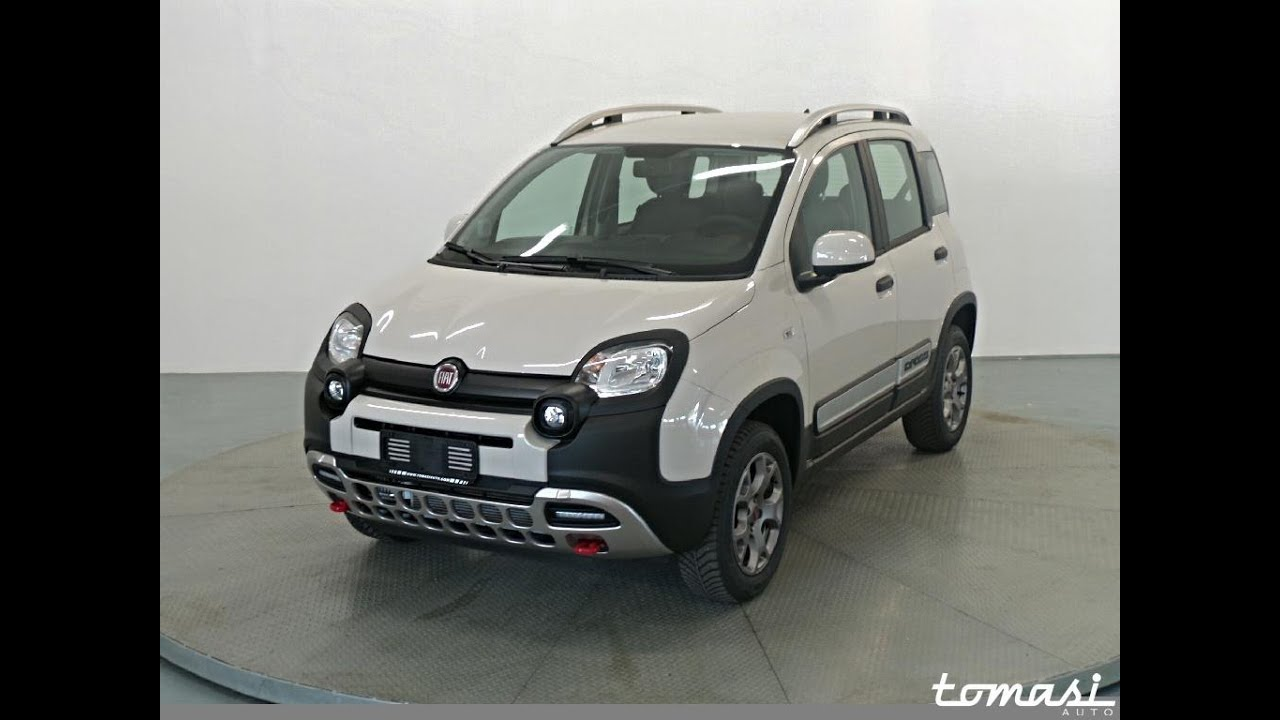 fiat panda cross 1 3 mjt 95 cv s s 4x4 km0 youtube. Black Bedroom Furniture Sets. Home Design Ideas