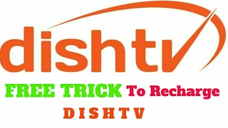 Free trick to Recharge Dishtv