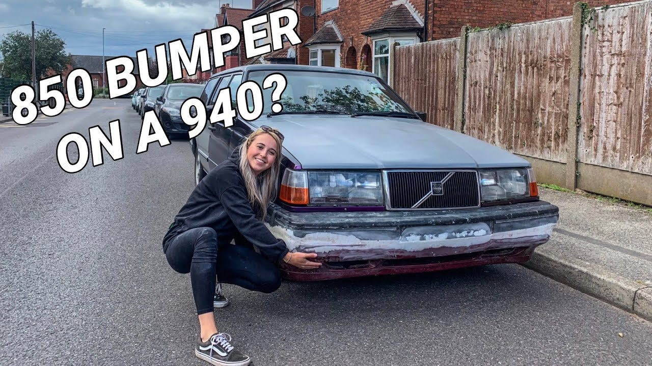 DIY NEW BUMPER FROM A VOLVO 850!