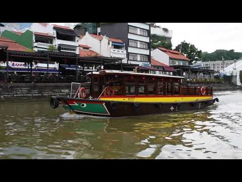 Singapore - Singapore River - Bumboats (2018)