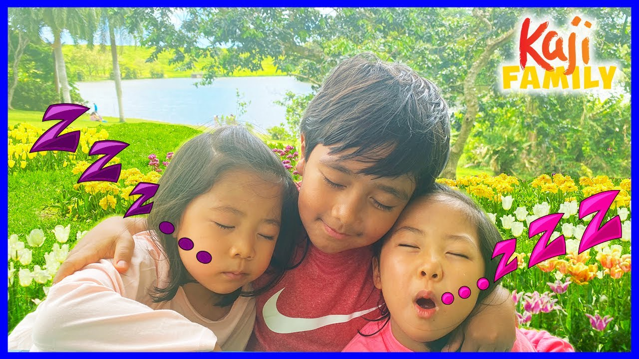 Ryan visits the Garden with his sisters!!