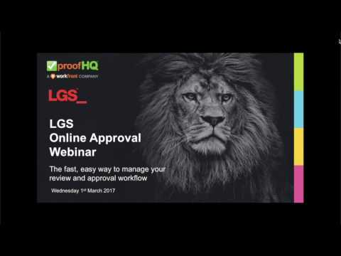 ProofHQ Webinar: Approve Your Rich Media Content Quickly & Easily  Part 1