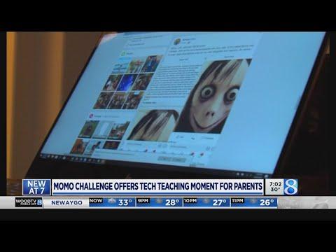 Momo prompts fear, talks between parents and kids