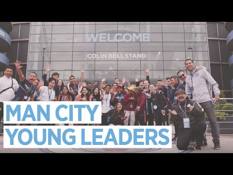 YOUNG LEADERS TAKE OVER AT MANCHESTER CITY!