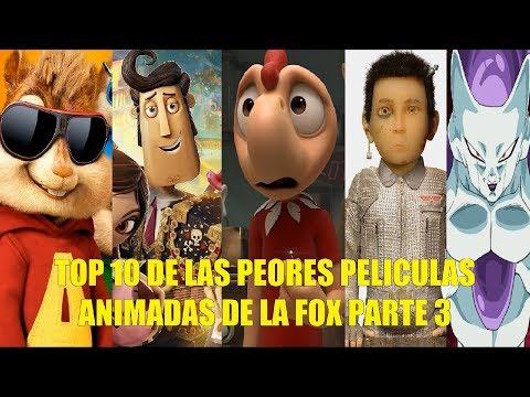 TOP 10 DE LAS PEORES PELICULAS ANIMADAS DE LA FOX PARTE 3