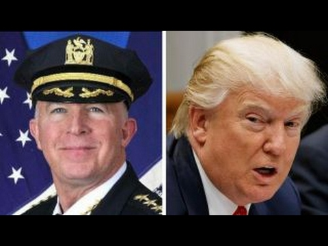 NYPD commissioner defying president's immigration orders