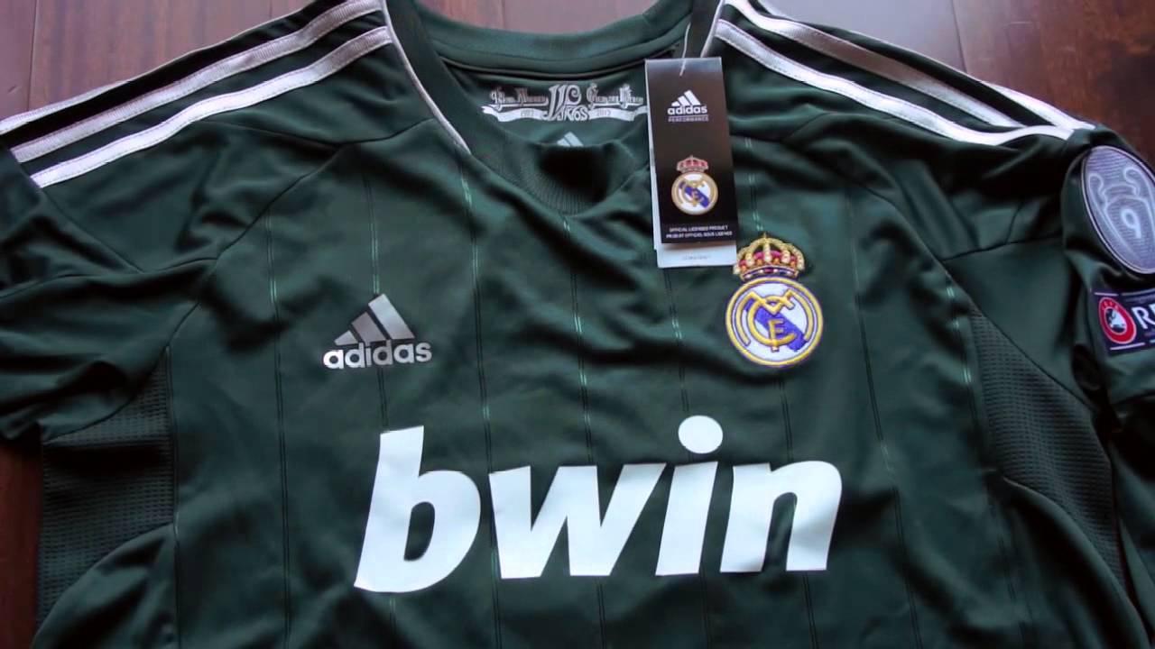 db22d7572c116 Real Madrid 12-13 (Playera Manga Larga Alternativa) Champions League. -  YouTube