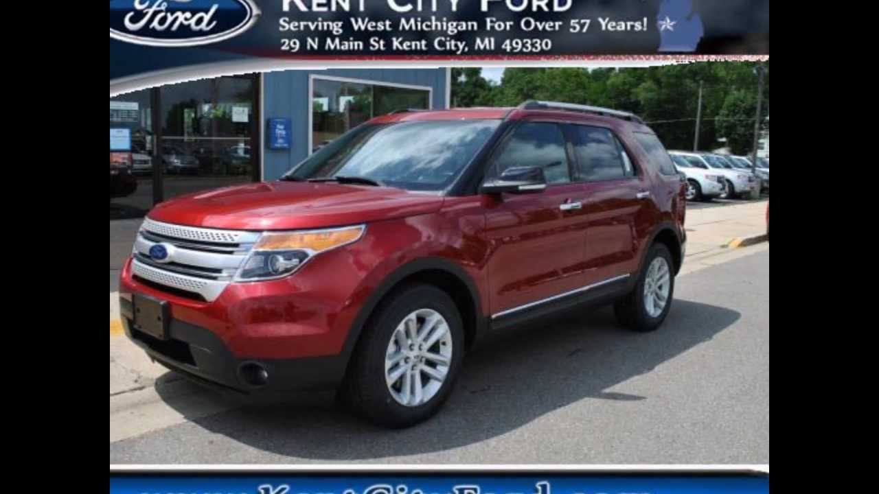 2014 Ford Explorer XLT  Ruby Red Metallic Tinted Clear