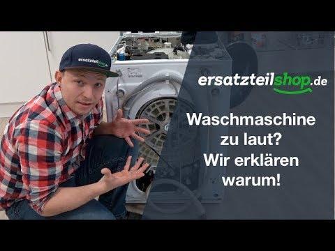 Berühmt Waschmaschine laut - Waschmaschine macht Geräusche - Fehleranalyse DO13