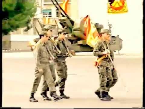 jura de bandera 4 del 92 artilleria RAAA73  cartagena...parte 1