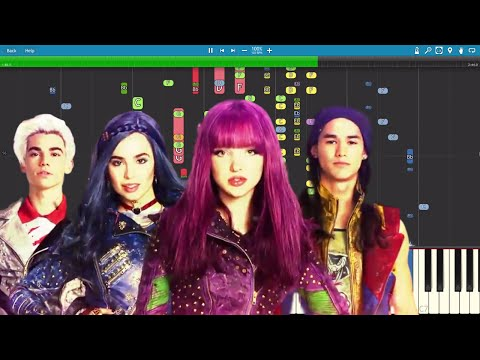 IMPOSSIBLE REMIX - Chillin' Like A Villain - Descendants 2 OST - Piano Cover