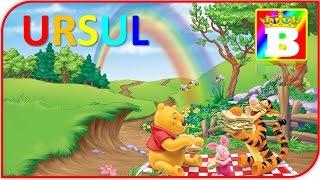 Ursul.  Poezii pentru copii de gradinita.   Bogdan`s Show. Desene animate în româna.