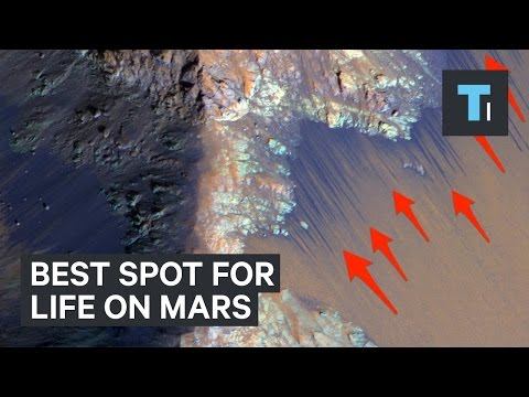 This could be the perfect place for life on Mars