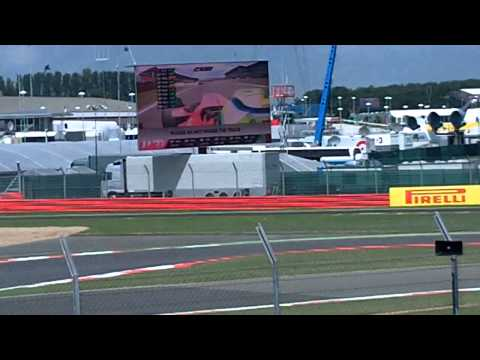 Hamilton vs Massa 2011 British Grand Prix Last Lap Formula 1