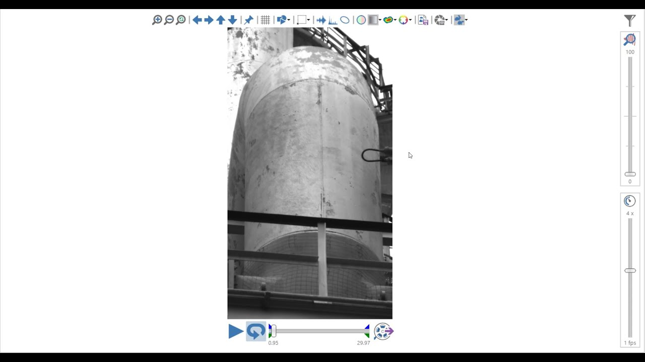 Motion Amplification - Dealing with Thermal Distortion