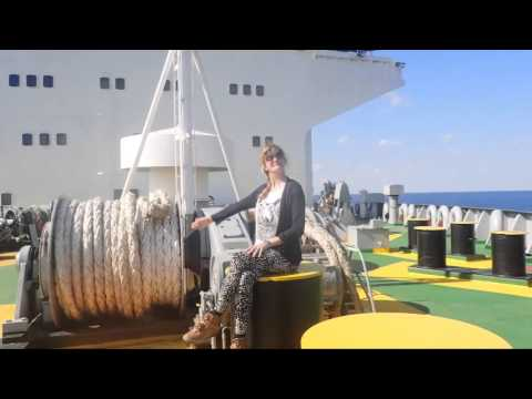 30 men, 1 woman & a big ship - from Bulgaria to Georgia