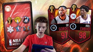 13 LIT CORNUCOPIA PACKS! 96 PULLS! NBA Live Mobile INSANE PACK OPENING