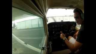 Full Flight lesson at KFAT in a Cessna 172