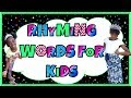 LEARN HOW TO READ FOR KINDERGARTEN - Kindergarten Rhyming Word Song