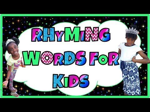 LEARN HOW TO READ FOR KINDERGARTEN - Kindergarten Rhyming Word Song