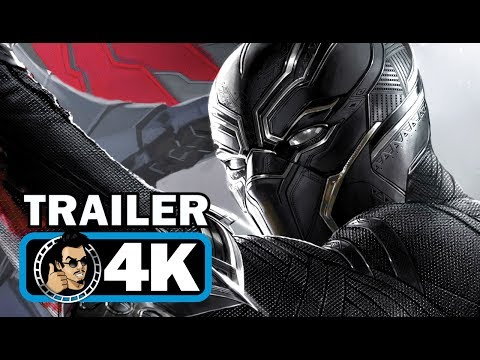 BLACK PANTHER Trailer + Avengers Fight Clip (4K ULTRA HD) Marvel Movie 2018