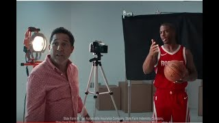 State Farm Commercial 2018 Chris Paul, James Harden, Oscar Nuñez