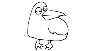 Aangevallen door meeuwen! - Vogeljongen
