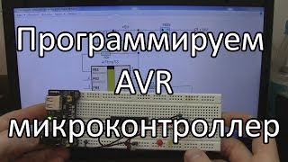 Программируем первый AVR микроконтроллер.