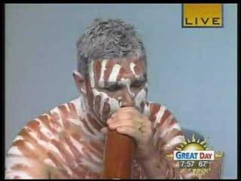 Didgeridoo - Jeremy Donovan, Aboriginal Artist