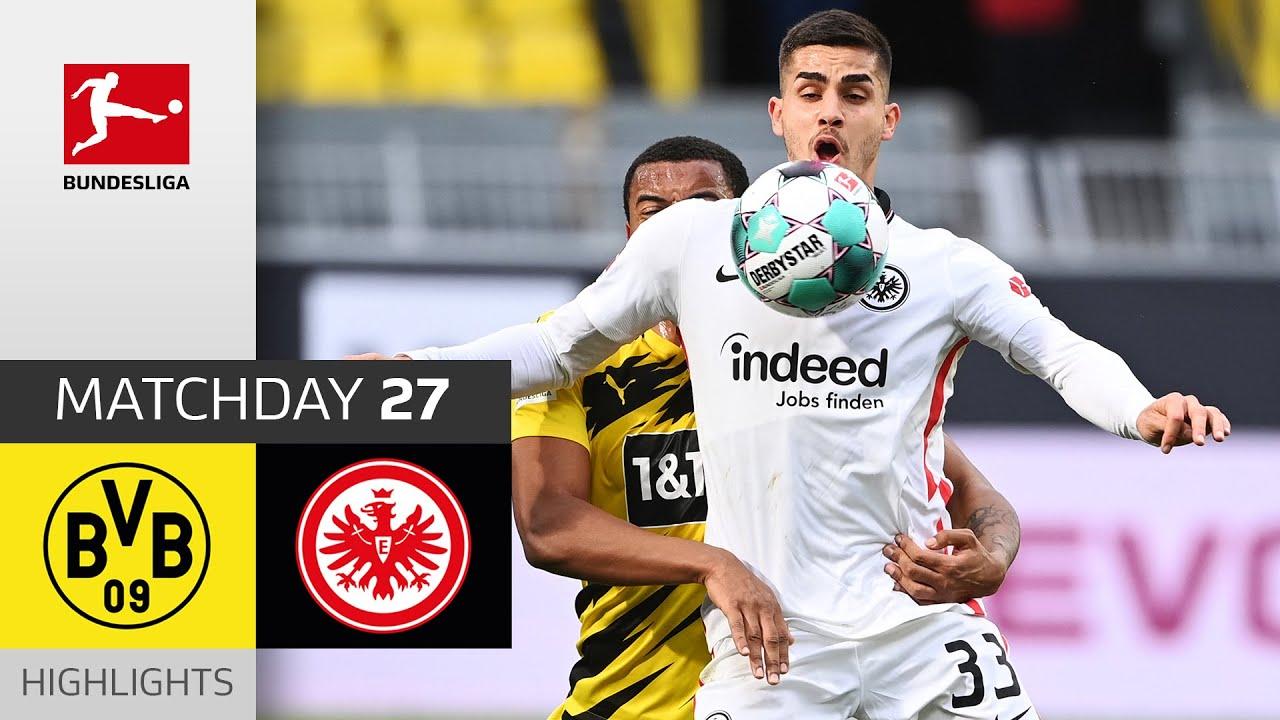 Silva's Goal for the Win vs. BVB   Borussia Dortmund - Eintracht Frankfurt   1-2   All Goals   MD 27 - Bundesliga