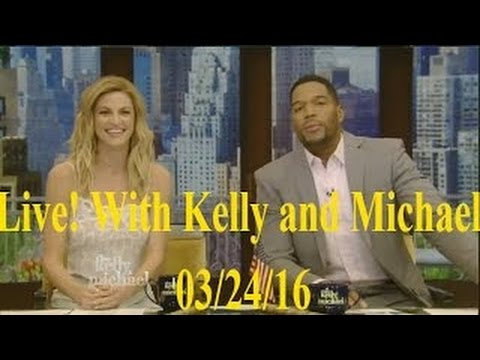 Live! With Kelly and Michael 03/24/16 Don Cheadle; Paul Reubens