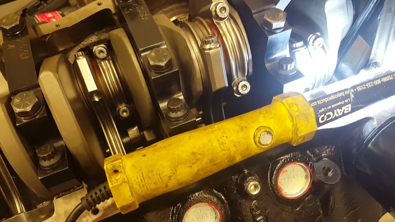 hight resolution of small block ford oil pump shaft installation