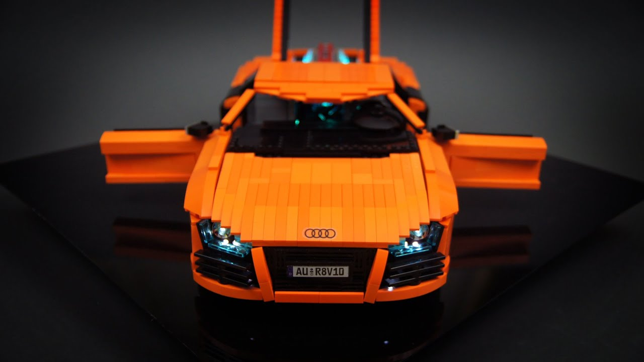 Lego Technic Rc Audi R8 V10 Youtube