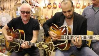 1941 & 1942 D'Angelico New Yorkers here at Norman's Rare Guitars