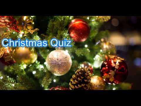 DD Christmas Quiz With Answers