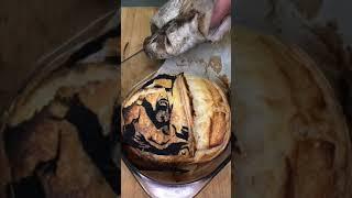 Тесто с рисунком рецепт хлеба в описании shorts