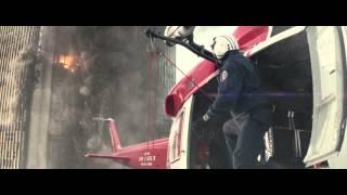 Разлом Сан-Андреас - сцена спасения на вертолете