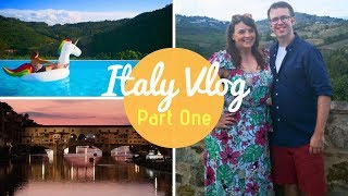 Italy Vlog Part 1 | Travel Day, Tuscany & Florence | KrispySmore