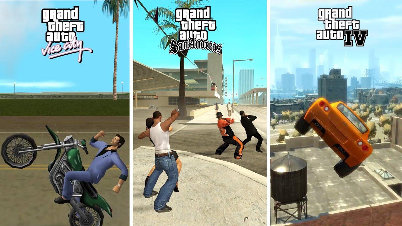 Glitch KOCAK di Setiap Game GTA