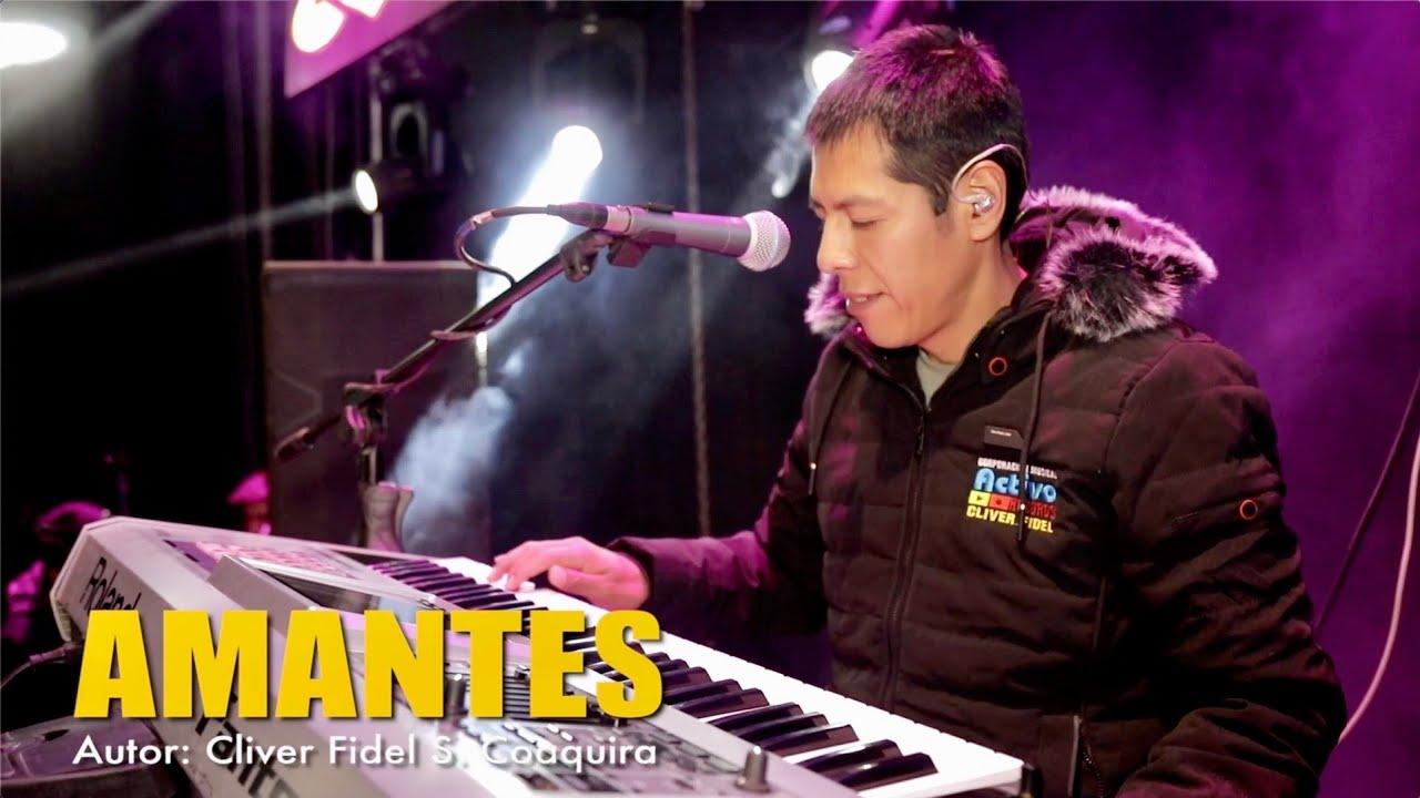 Cliver y su grupo Coralí - Amantes (Concierto) Activo Records™2020