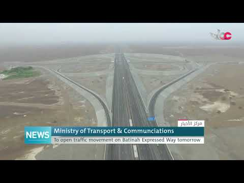 Ministry of Transport and Communications inaugurates tomorrow the Batinah Express Way Project