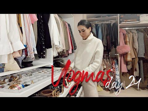 Closet Tour and London Shopping #VLOGMAS24   Tamara Kalinic