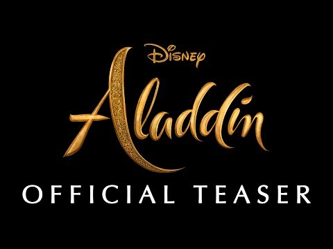 Taylor J - Live Action Aladdin Trailer Released