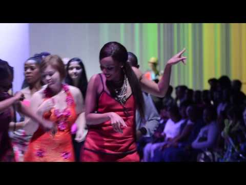 Bonang *Queen B* Matheba Dancing at DURBAN FASHION FAIR