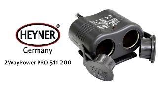 HEYNER 2Way Power Pro — автомобильный разветвитель — видео обзор 130.com.ua
