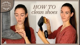 How to clean leather shoes, boots, sneakers, white shoes, etc. | Justine Leconte