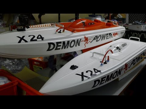 Electric Power Model Racing Boats for Offshore (Sea) Racing 2019-2020