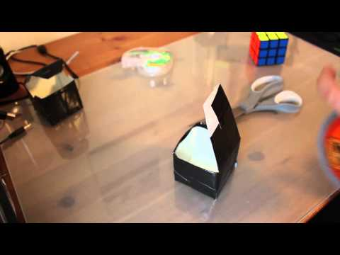 Howto: Make a Rubik's Cube Box