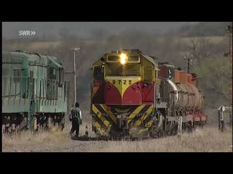 Ramal C14 Stahlband durch die Bergwueste Argentiniens