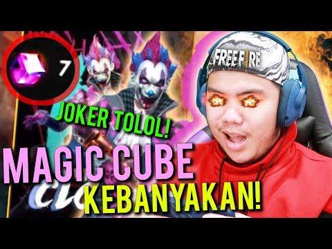 download NYOBAIN SKIN MAGIC CUBE TERBARU KAYA JOKER KEREN BANGET!! - Free Fire Indonesia #40